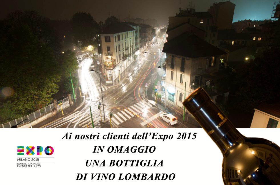 Omaggio per i clienti Expo 2015